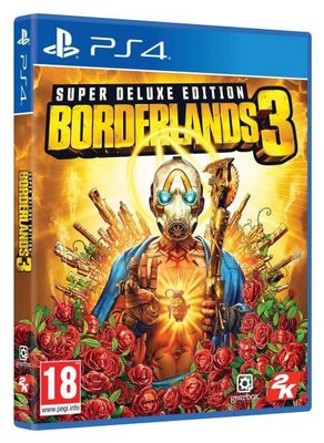 Take 2 Borderlands 3 Super Deluxe Edition PS4 Oyun