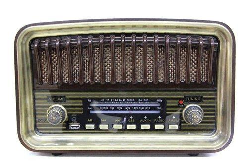 Crown Well Ahşap Radyo