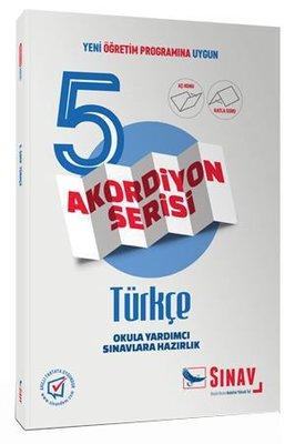 Sınav 5.Sınıf Türkçe Akordiyon Kitap