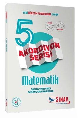Sınav 5.Sınıf Matematik Akordiyon Kitap