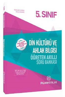 Puan 5.Sınıf Din Kültürü ve Ahlak Bilgisi Öğreten Akıllı Soru Bankası