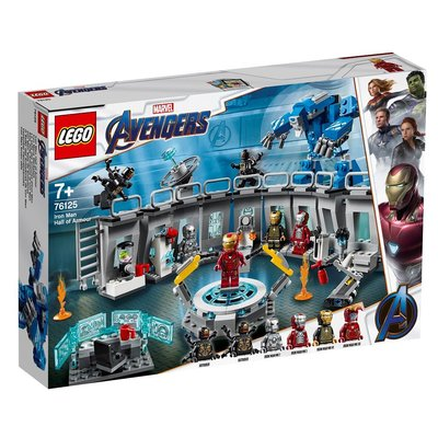 Lego Marvel Avengers Iron Man Zırh Salonu 76125