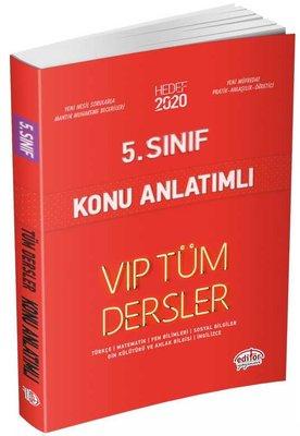 Editör 5.Sınıf VIP Tüm Dersler Konu Anlatımlı Kırmızı Kitap