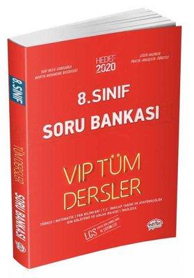 Editör 8.Sınıf VIP Tüm Dersler Soru Bankası Kırmızı Kitap