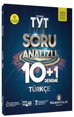Puan TYT Türkçe Soru Analizi 10+1 Deneme