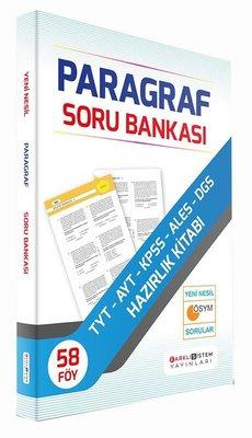 Farklı Sistem TYT AYT KPSS ALES DGS Paragraf Soru Bankası