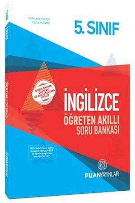 Puan 5.Sınıf İngilizce Öğreten Akıllı Soru Bankası