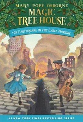 Magic Tree House #24: Earthquake in (Magic Tree House (R))