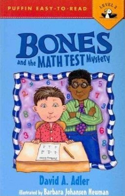 Bones and the Math Test Mystery (Puffin Easy-To-Read: Level 2)