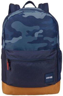 CaseL. Commence Notebook Sırt Çantası 15.6Kamuflaj Mavi