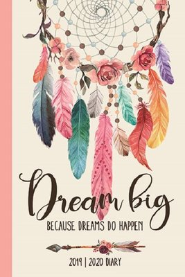 Legami Orta Günlük 16 Ay 2019-2020 Dreamcatcher Ajanda