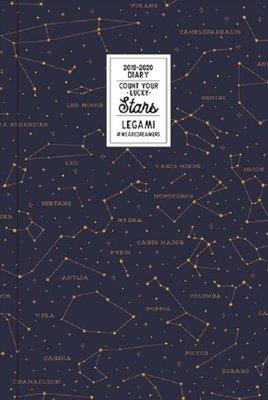 Legami Küçük Günlük 16 Ay 2019-2020 Stars Ajanda
