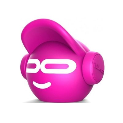 Mini Beat Dude Bluetooth Hoparlör Pembe