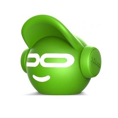 Mini Beat Dude Bluetooth Hoparlör Yeşil