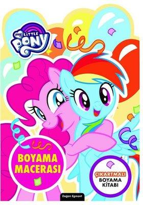 My Little Ponny Özel Kesimli Boyama Macerası