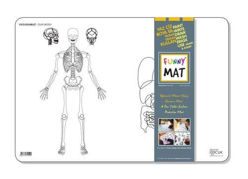 Akademi Çocuk Funny Mat - Vücudumuz