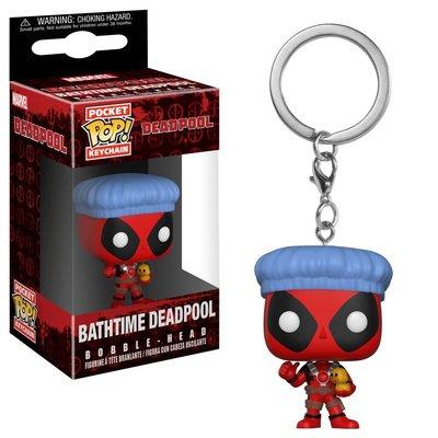 Funko POP Anahtarlık Marvel, Deadpool Bathtime