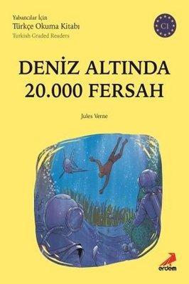 Deniz Altında 20000 Fersah-C1 Yabancılar İçin Türkçe Okuma Kitabı