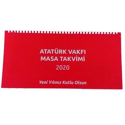Atatürk Vakfı 2020 Masa Takvimi Sümen