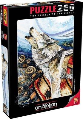 Anatolian-Puzzle 260  Kurt Çığlığı  Howling Wolf
