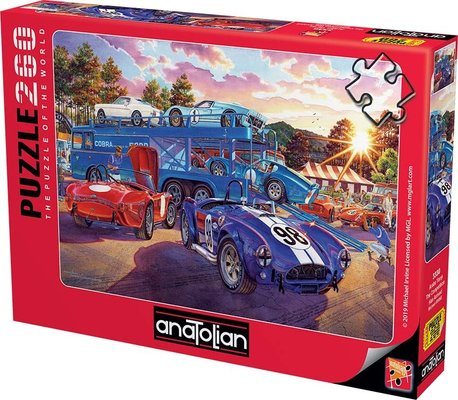 Anatolian-Puzzle 260  Araba Yarışı  The Competition Has Arrived