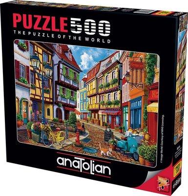 Anatolian-Puzzle 500  Arnavut Kaldırımı  Cobblestone Alley