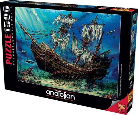 Anatolian-Puzzle 1500  Batık Gemi  Shipwreck Sea