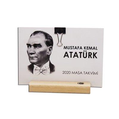 İstisna - 2020 Dekoratif Masa Takvimi Atatürk