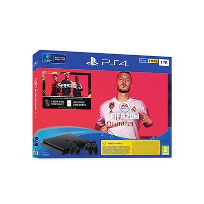 PS4 1TB + Fifa20 + DS4