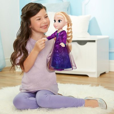 Frozen 2 Müzikli Işıklı Elsa 35 cm 208494