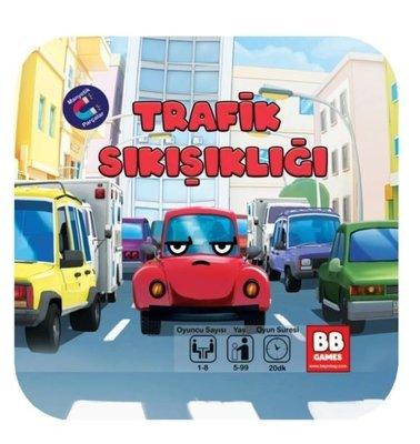 Beyin Bey Trafik Sıkışıklığı Çocuk Oyun Kartları