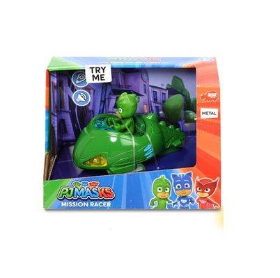 Pj Mask Figür Mission Racer Gekko Sesli - Işıklı 12 cm.1-43 Yeşil