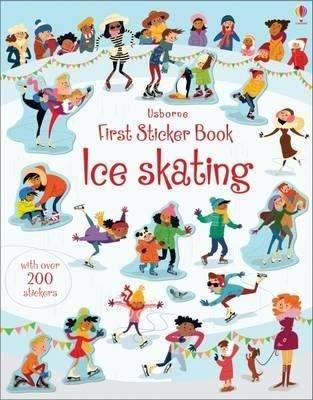 First Sticker Book Ice Skating (First Sticker Books)