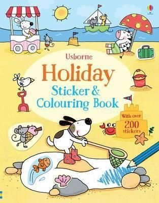 Holiday Sticker and Colouring Book (First Colouring and Sticker Books) (Sticker and Colouring Books)