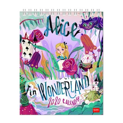 Legami Takvim Masaüzeri 12x145 2020 Alice In Wonderla
