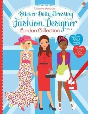 Sticker Dolly Dressing Fashion Designer London