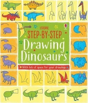 Step-by-Step Drawing Dinosaurs (Step-by-Step Drawing Book)