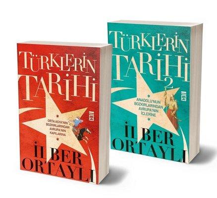 İlber Ortaylı Türklerin Tarihi Seti-2 Kitap Takım