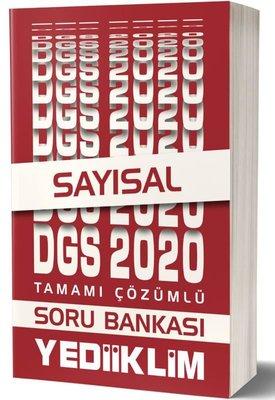Yediiklim 2020 DGS Sayısal Tamamı Çözümlü Soru Bankası