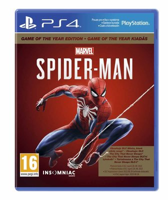 Marvel's Spider-Man Game Of The Year Edition - PS4 Oyun
