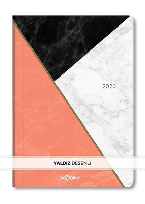 Lecolor Günlük Ajanda 2020 Mermer 15X21