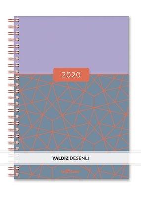 Le Color Günlük Ajanda 2020 Felix Lila 15x21 cm.