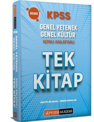 2020 KPSS Genel Yetenek Genel Kültür Konu Anlatımlı Tek Kitap
