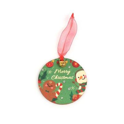 Pan Dizayn Ahşap Ağaç Süsü Merry Christmas