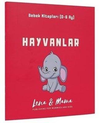 Hayvanlar: Bebek Kitapları 0-6 Ay