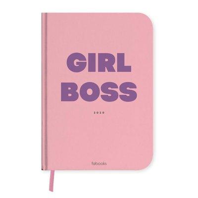 fabooks Ajanda 2020  Girl Boss
