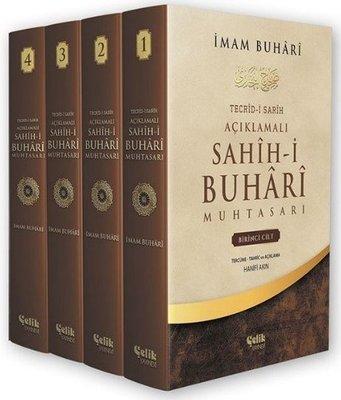 Sahih-i Buhari Muhatasarı Seti-4 Kitap Takım-Kutulu