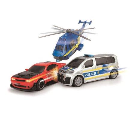 Dickie Toy Police Chase Model Araç