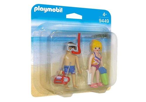 Playmobil Family Beachgoers 9449