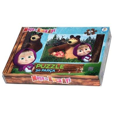 Mabbels Çocuk Puzzle 30 Parça Maşa